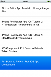 UI Table View Cell Two Line Text