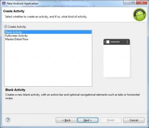 create android project 4