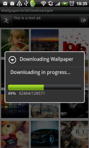download an image with progress dialog