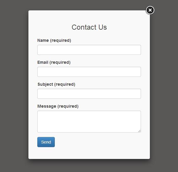 Ajax Contact Us Form