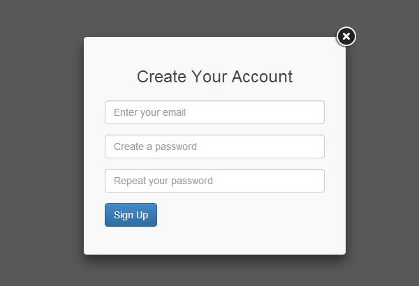 Ajax Register Form
