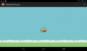 flappy bird animation example