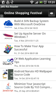 Android Rss Reader 3.8