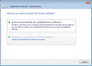 Android ADB USB Driver Manually