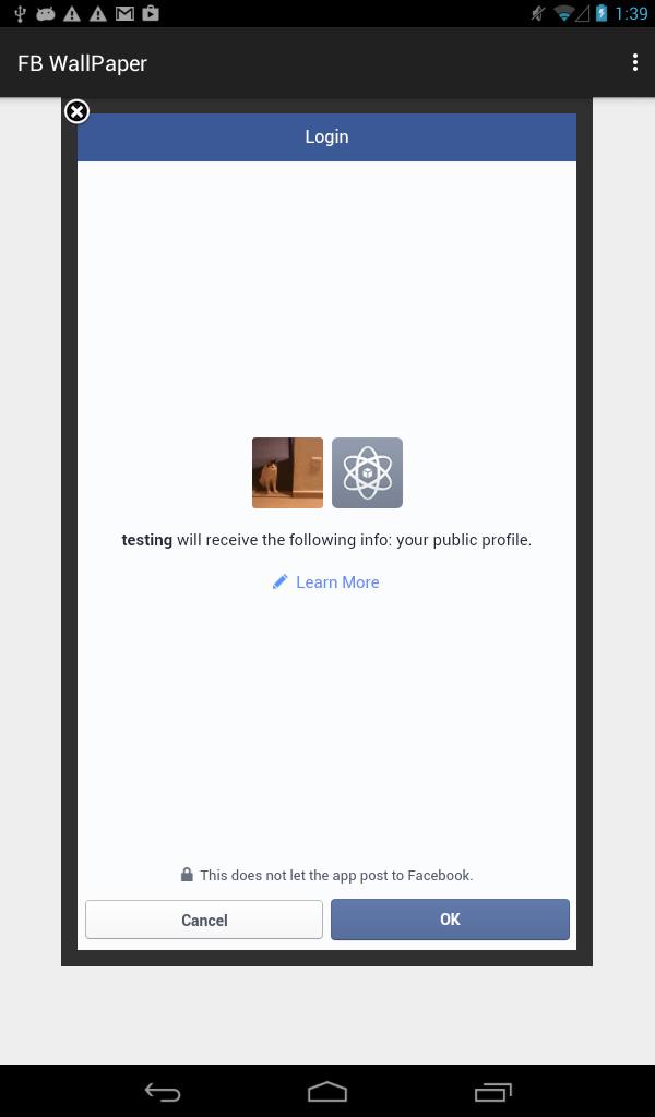 facebook-login-successfully