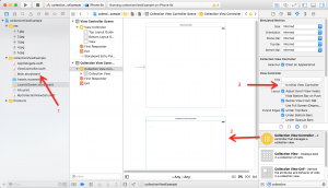 create application collection view