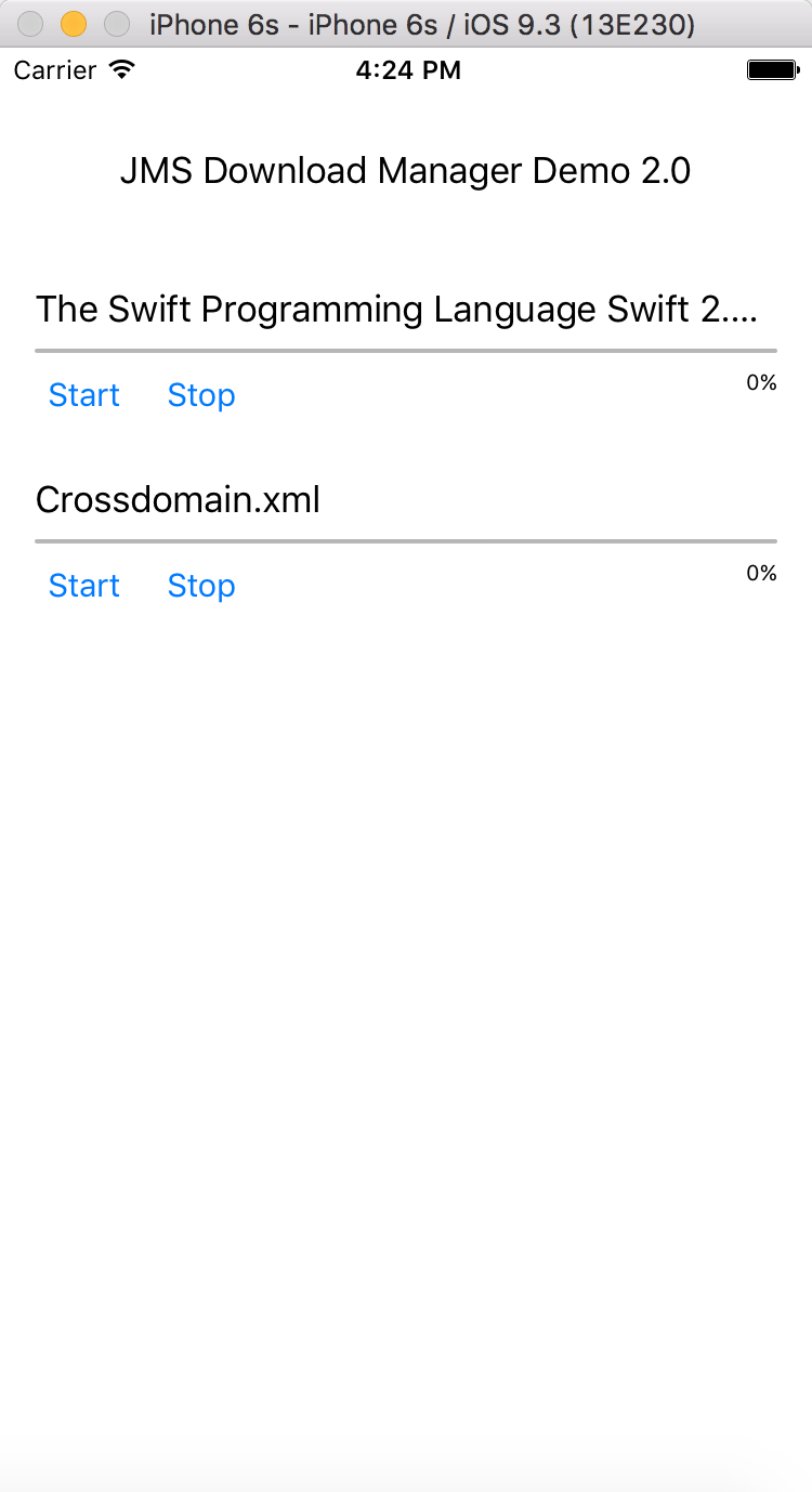Download Multiple Files Simultaneously in iOS