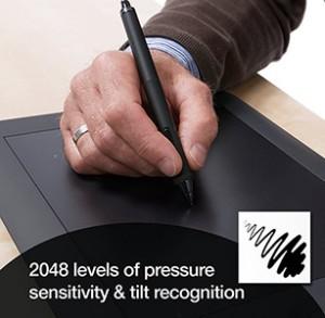 pressure-sensitivity