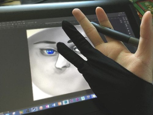 Artist Glove for Drawing Tablet