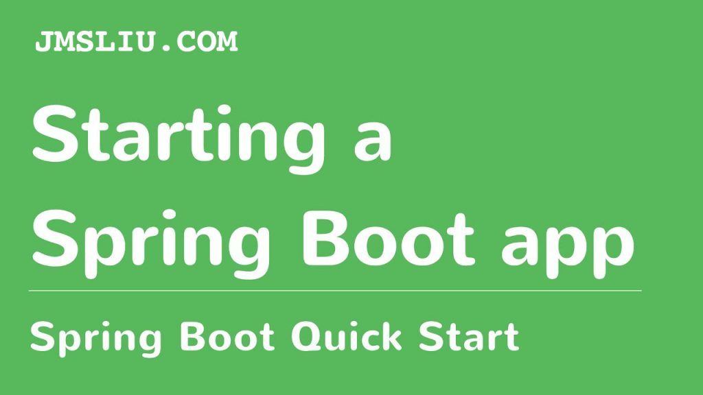 Build J2EE Project with Maven Spring Boot and Mybatis